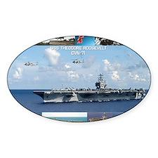 USS Theodore Roosevelt (CVN-71) Decal