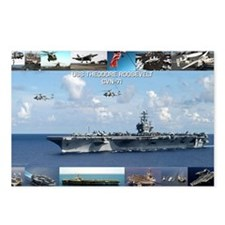 USS Theodore Roosevelt (C Postcards (Package of 8)