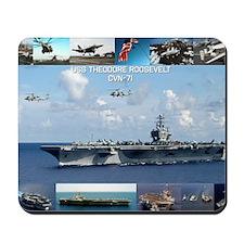 USS Theodore Roosevelt (CVN-71) Mousepad