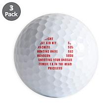Zombie Ex Priceless Golf Ball