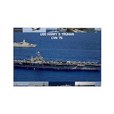 USS Harry S Truman (CVN-75) Rectangle Magnet