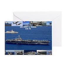 USS Harry S Truman (CVN-75) Greeting Card