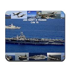 USS Harry S Truman (CVN-75) Mousepad