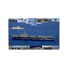 USS Harry S Truman (CVN-75) 3'x5' Area Rug