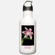 Stargazer Lily with na Water Bottle