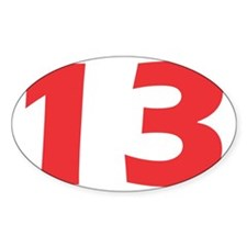 No_13 Decal