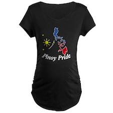 Pinoy Pride Map for dark ga T-Shirt