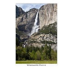 yosemitefallsPoster2 Postcards (Package of 8)