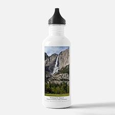 yosemitefallsPoster2 Water Bottle