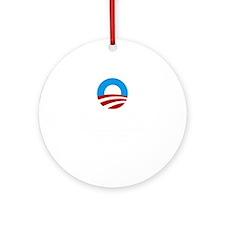 Obama Round Ornament