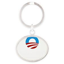 Obama Oval Keychain