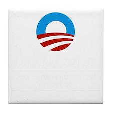 Obama Tile Coaster