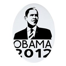Obama Oval Ornament
