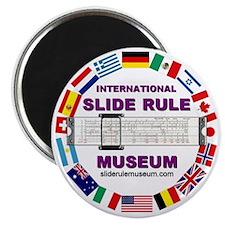 ISRM logo w/url Magnet
