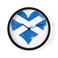 A Scottish Heart Wall Clock