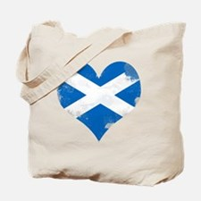 A Scottish Heart Tote Bag