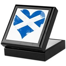 A Scottish Heart Keepsake Box