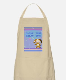 Laugh your heart  out! Apron