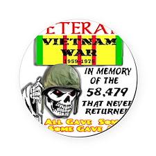 Vietnam Tribute for light shirt.May  Cork Coaster