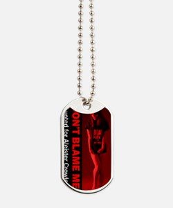 Dont-Blame-Me-aleister-crowley-model-side Dog Tags