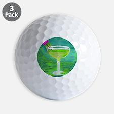 Margarita Tequila Cocktail Pillow Golf Ball
