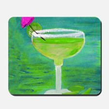 Margarita Tequila Cocktail Pillow Mousepad