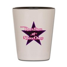 Dude-ettes Pynk-n-Whyte Collection Shot Glass