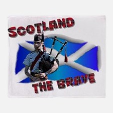 Scotland the brave Throw Blanket