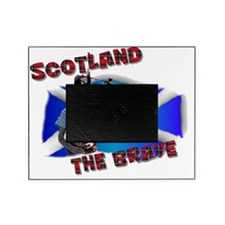 Scotland the brave Picture Frame