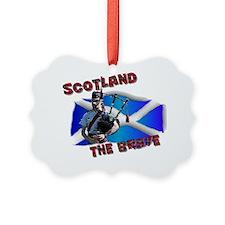 Scotland the brave Ornament