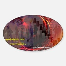 Own Your Vision Sticker (Oval)
