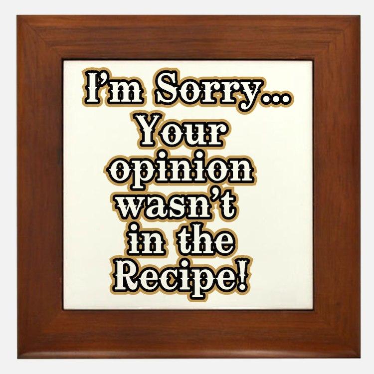 Tile Funny Quotes : Kitchen sayings framed art tiles buy