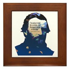 General Grant Framed Tile