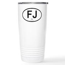 FJ - Fiji oval Travel Mug