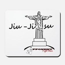 Jiu Jitsu Arms Wide open Mousepad