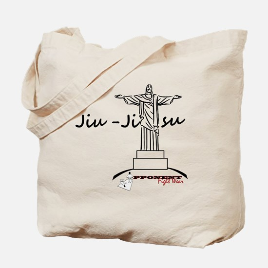 Jiu Jitsu Arms Wide open Tote Bag