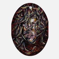 Medusa No. Three Oval Ornament