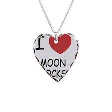 I heart Moon Rocks Necklace