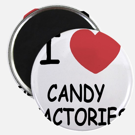 I heart Candy Factories Magnet