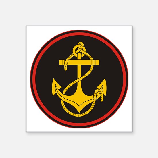 "Russian Naval Infantry (Mar Square Sticker 3"" x 3"""