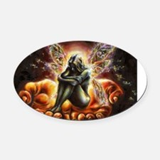 I Believe Oval Car Magnet
