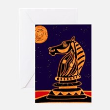 Tiger Knight Greeting Card