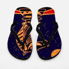 Tiger Knight Flip Flops