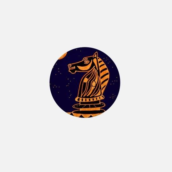 Tiger Knight Mini Button