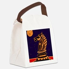 Tiger Knight Canvas Lunch Bag
