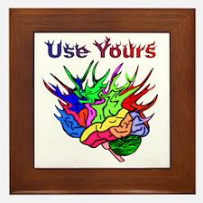 Use Yours Framed Tile