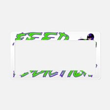 SnowmobileAddictionDesign2 License Plate Holder