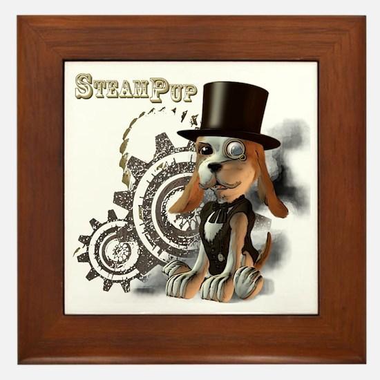 SteamPup Framed Tile