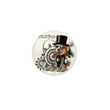SteamPup Mini Button