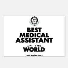 The Best in the World – Medical Assistant Postcard
